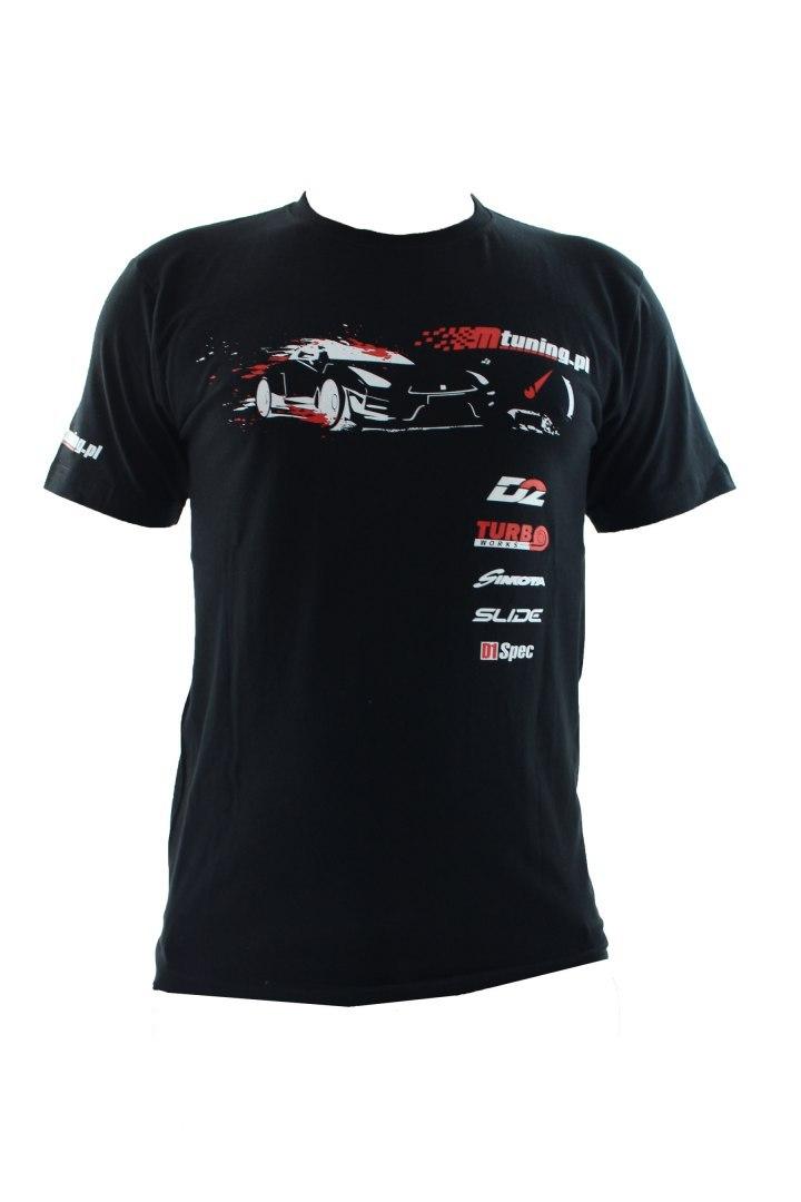Koszulka T-Shirt MTuning Czarna XXL - GRUBYGARAGE - Sklep Tuningowy